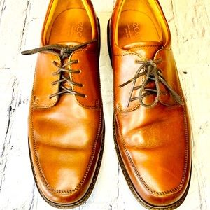 ECCO Shoe Holton Apron Toe Derby
